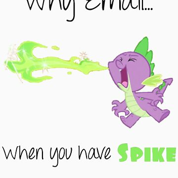 Spike Mail by SoloBron3