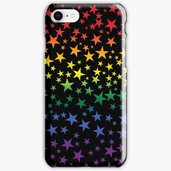 Colorful Rainbow Stars iPhone Snap Case