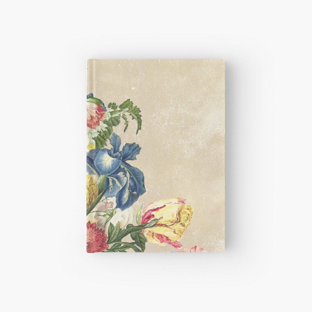 Floral tribute to Louis Mcneice (Light) Hardcover Journal