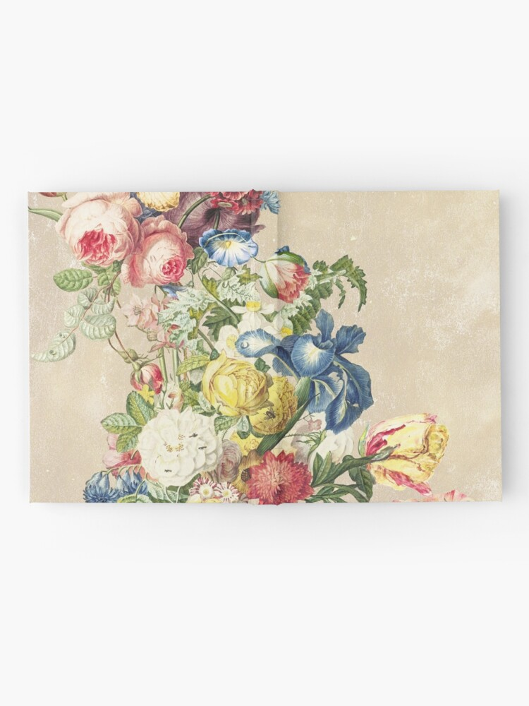 Alternate view of Floral tribute to Louis Mcneice (Light) Hardcover Journal