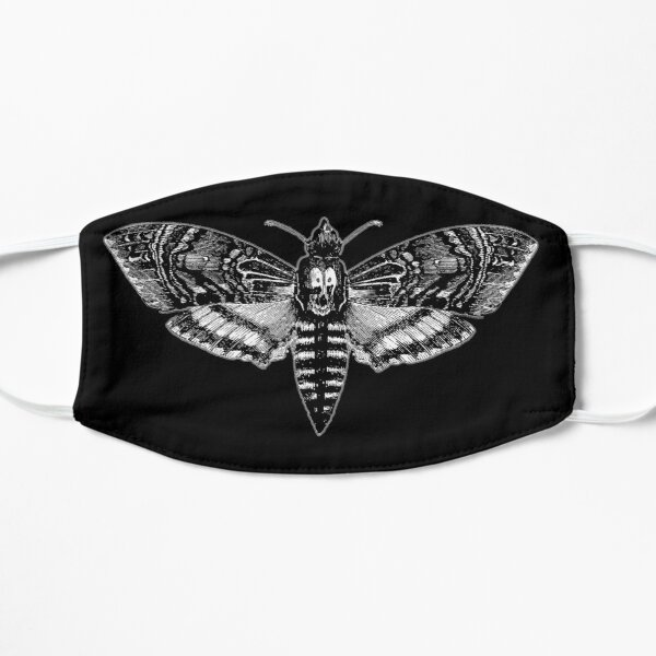 Deaths Head Moth - Silence of the Lambs Flat Mask