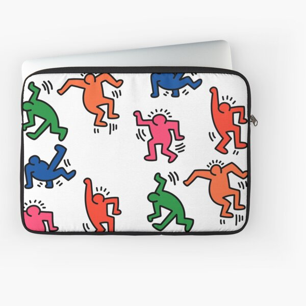 Keith Haring figures! Laptop Sleeve