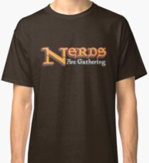 Nerds Are Gathering - Magic The Gathering MTG Spoof Classic T-Shirt