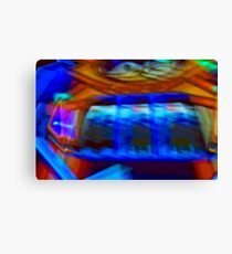 Video games abstract Canvas Print