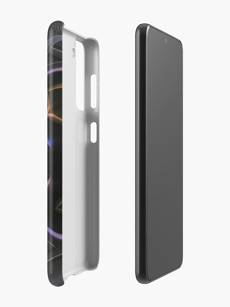 Alternate view of Sacred Geometry - Sacred Cube 2 Case & Skin for Samsung Galaxy