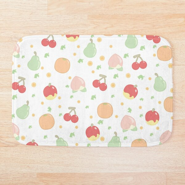 Fruit Pattern  Bath Mat