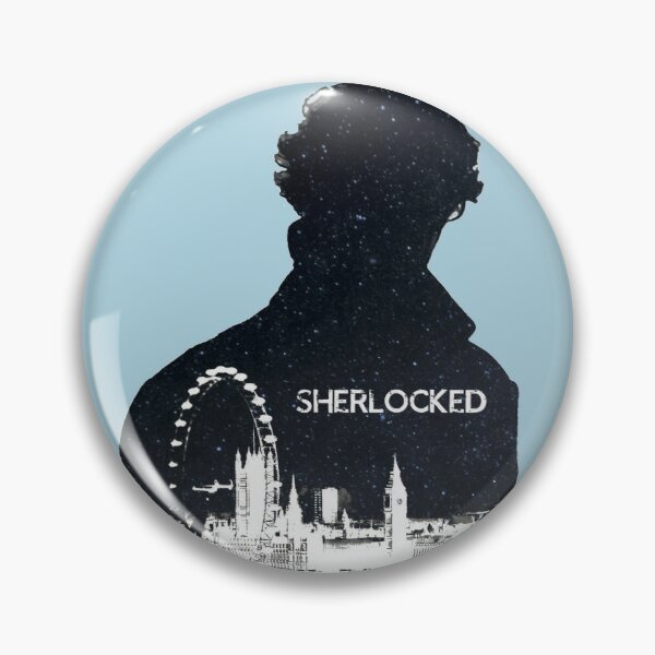 Sherlocked Pin