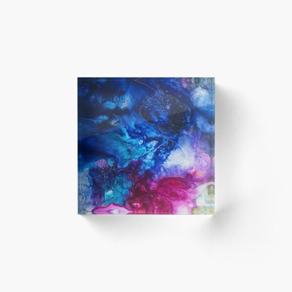 Into the Universe Acrylic Block