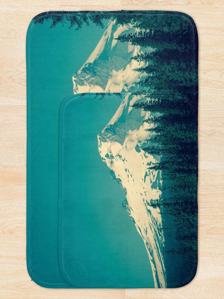 Alternate view of Mount Hood, Oregon Bath Mat