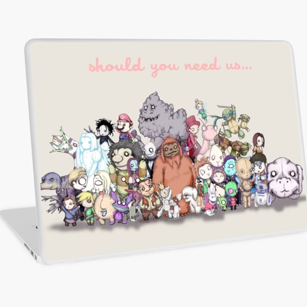 Should You Need Us (Super Extended) Laptop Skin