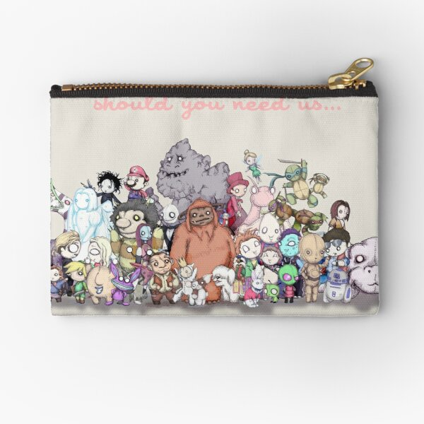 Should You Need Us (Super Extended) Zipper Pouch