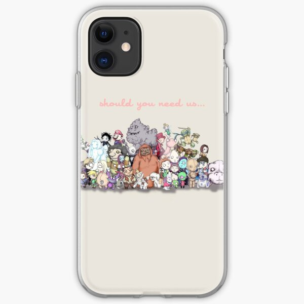 Should You Need Us (Super Extended) iPhone Soft Case