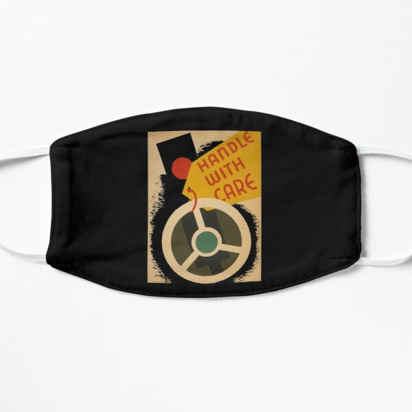 Women Empowerment Handle with Care T-Shirt Mask