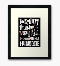 hell's bells Framed Print