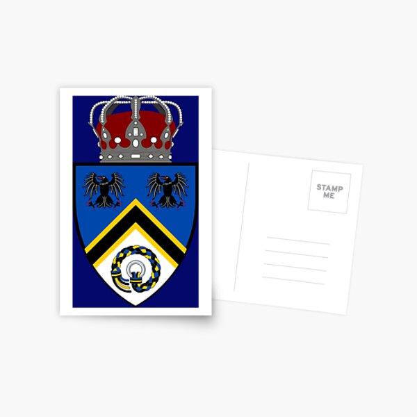 Kingdom of Hrafnarfjall Lesser Coat of Arms (Accessories) Postcard