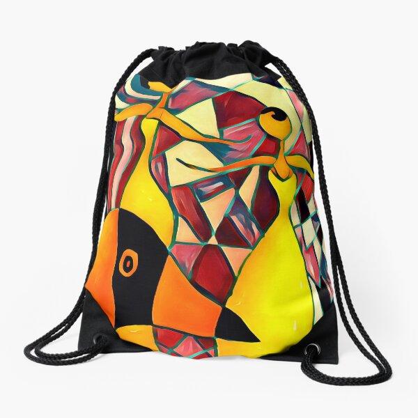Social Distancing Drawstring Bag