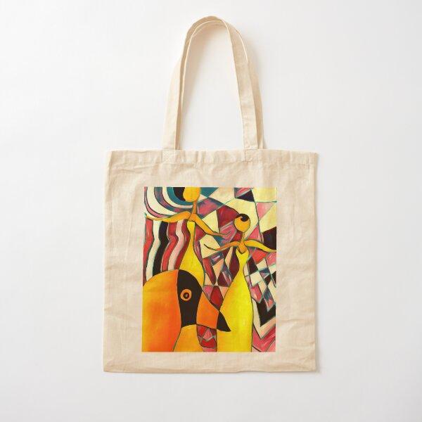 Social Distancing Cotton Tote Bag