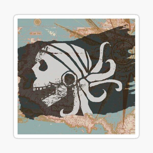 Pirate Scourge Sticker