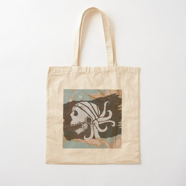 Pirate Scourge Cotton Tote Bag