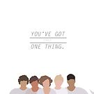 One Thing by roonilwazlib