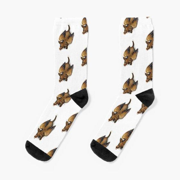 winged weenie Socks