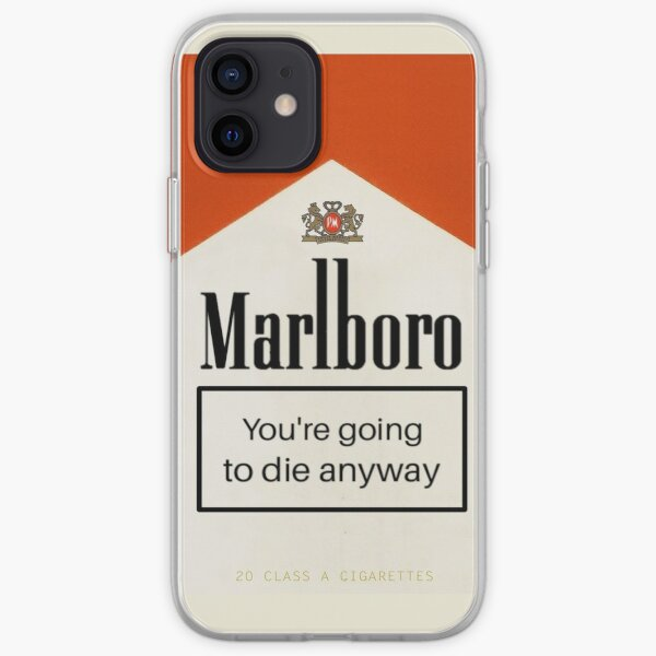 cigarette iPhone Soft Case