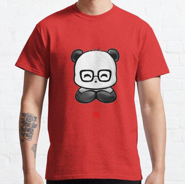 Geek Chic Panda Classic T-Shirt