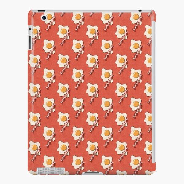 FAST FOOD / Egg and Bacon - pattern iPad Snap Case