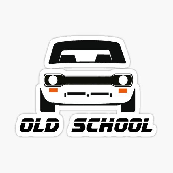 Autocollant de pare-chocs de fenêtre de voiture classique Ford Escort MK1 Retro Sticker