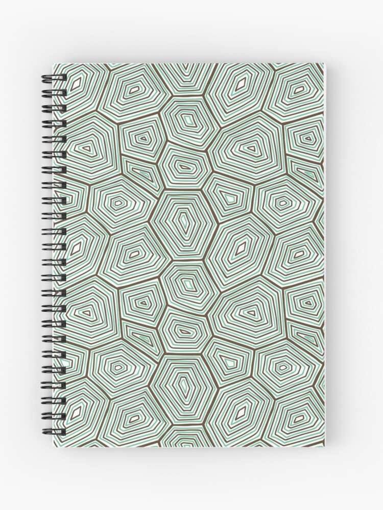 Turtle Shell Pattern Spiral Notebook By Talkingapparels Redbubble,Pet Tortoise Breeds