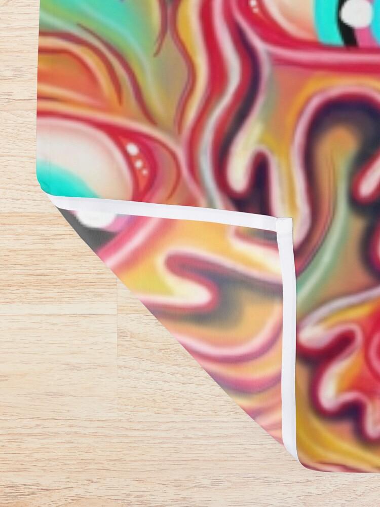 Alternate view of Eyeball Pattern Shower Curtain