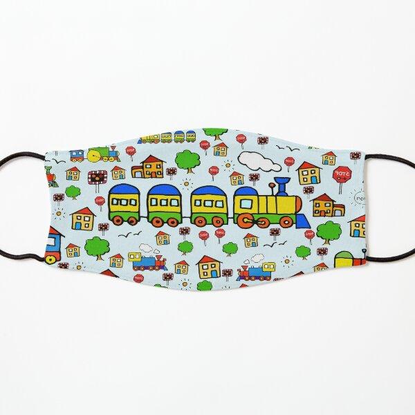Cute Trains Kids Mask