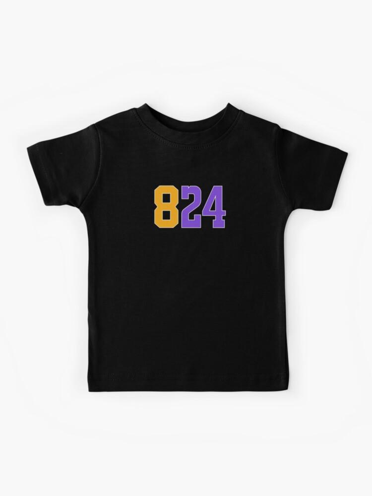 Kobe Bryant 824 Black Mamba Tee Shirt