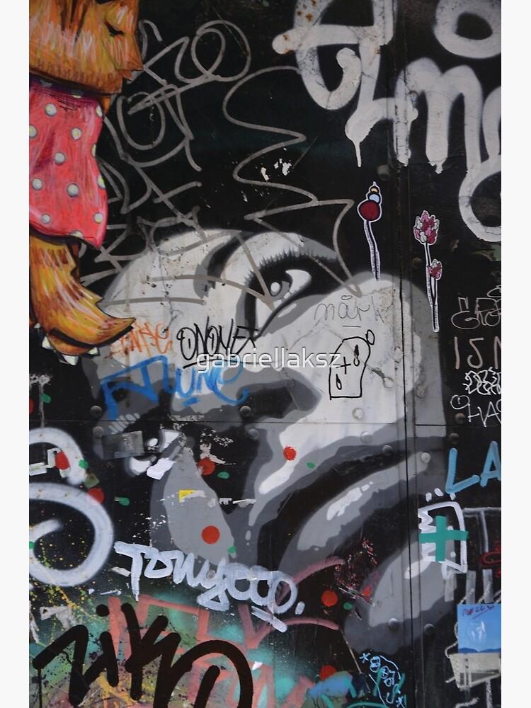 Barcelona Graffiti  by gabriellaksz