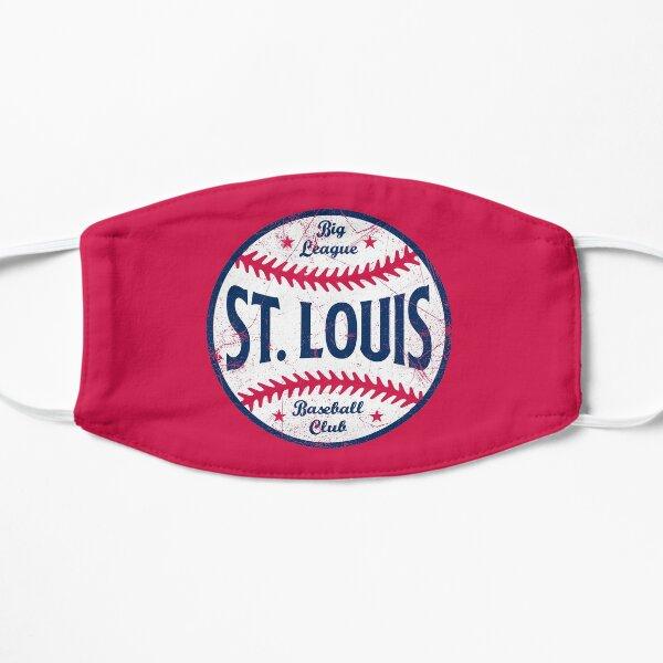 St. Louis Retro Big League Baseball - Red Flat Mask