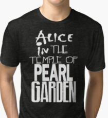 """ Alice in The Temple Of Pearl Garden"" Tri-blend T-Shirt"