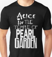 """"""" Alice in The Temple Of Pearl Garden"""" Slim Fit T-Shirt"""