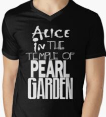 """ Alice in The Temple Of Pearl Garden"" Men's V-Neck T-Shirt"