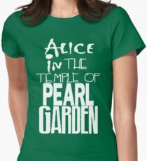 """"""" Alice in The Temple Of Pearl Garden"""" Womens Fitted T-Shirt"""