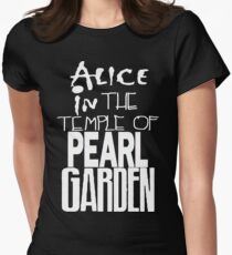 """ Alice in The Temple Of Pearl Garden"" Women's Fitted T-Shirt"