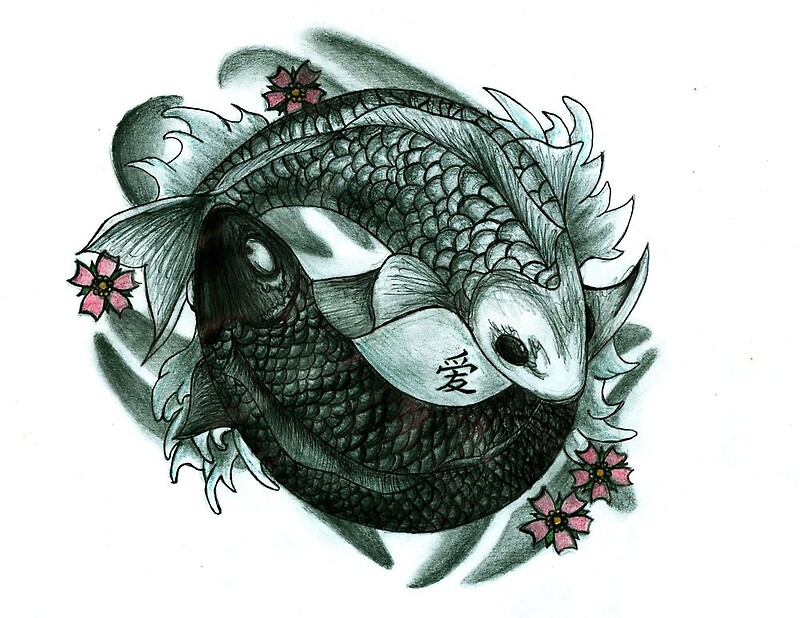 Koi fish yin and yang photographic prints by chloeosity redbubble koi fish yin and yang by chloeosity publicscrutiny Image collections