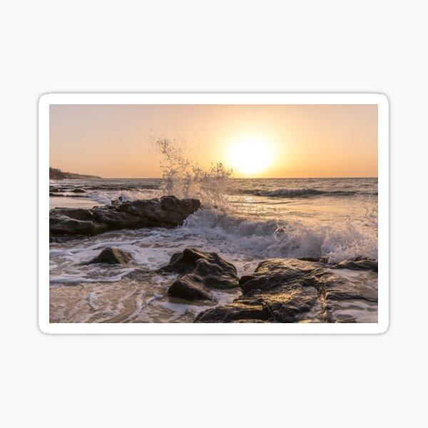 Sunrise on Fuerteventura Canary Islands Sticker