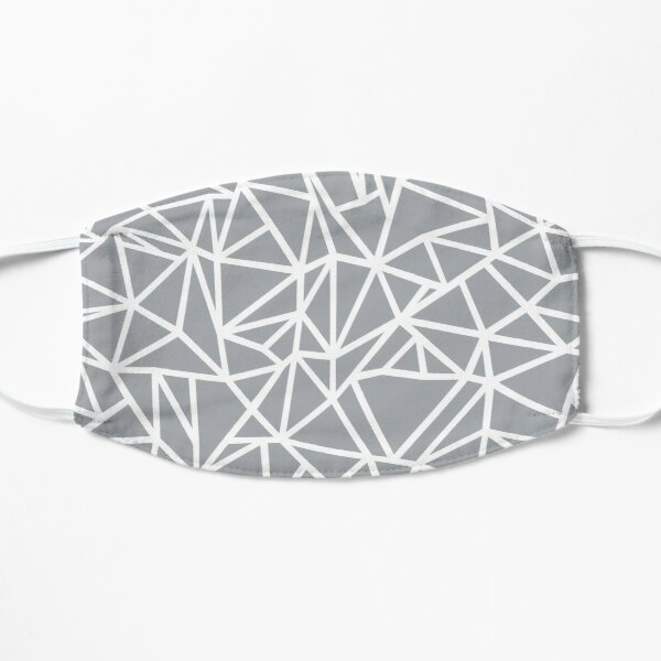 Abstraction Outline Thick Grey Mask