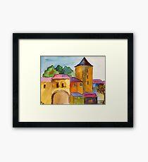 Nürnberger Burg Framed Print
