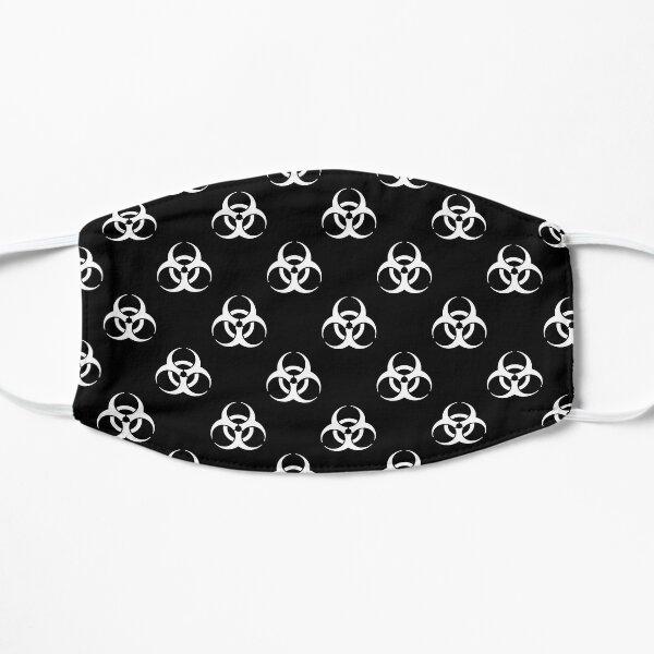 Bio Hazard Symbol Pattern Black and White Mask