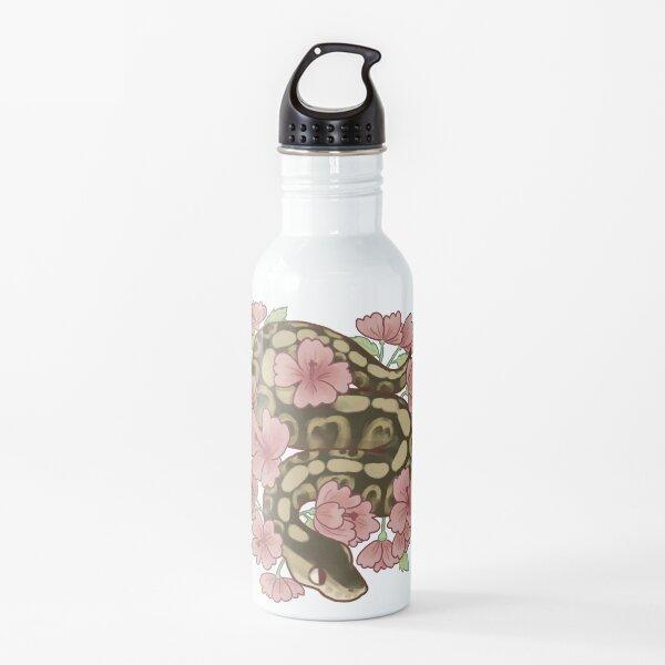 Flower Ball Python! Water Bottle