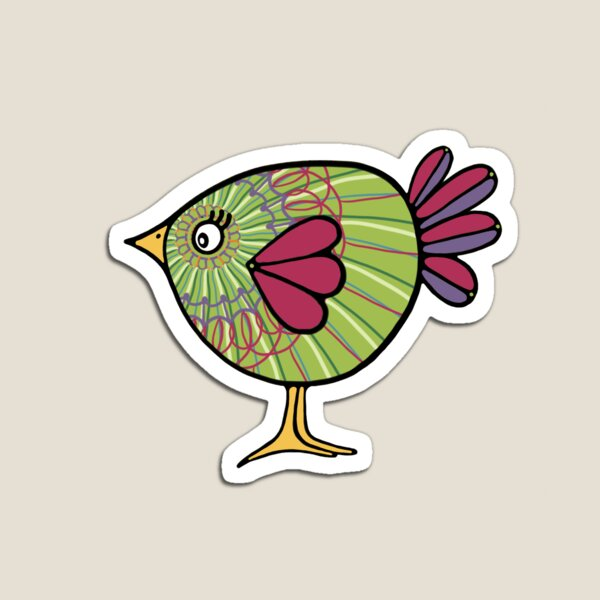 Birds of a Feather 8 Magnet