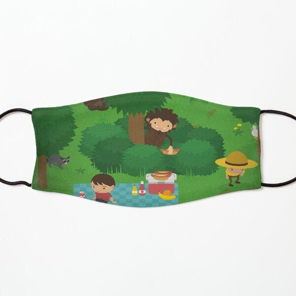 Sneaky Sasquatch Picnic Kids Mask