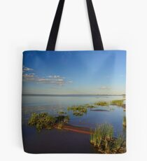 Blue Water beach Tote Bag