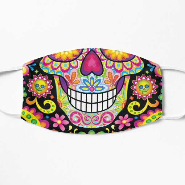 Sugar Skull Day of the Dead Art (Spark) Mask